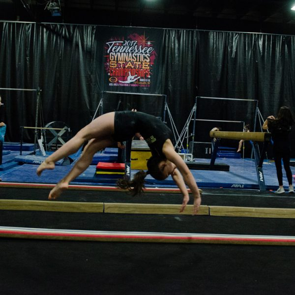 Mount Juliet Elite Gymnastics back handspring