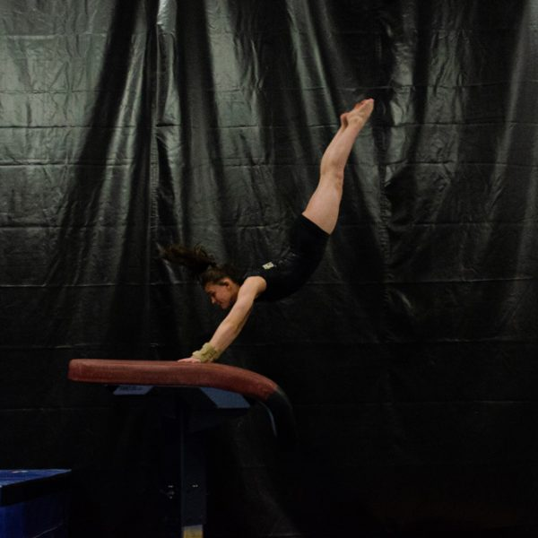 Mount Juliet Elite Gymnastics Vault training
