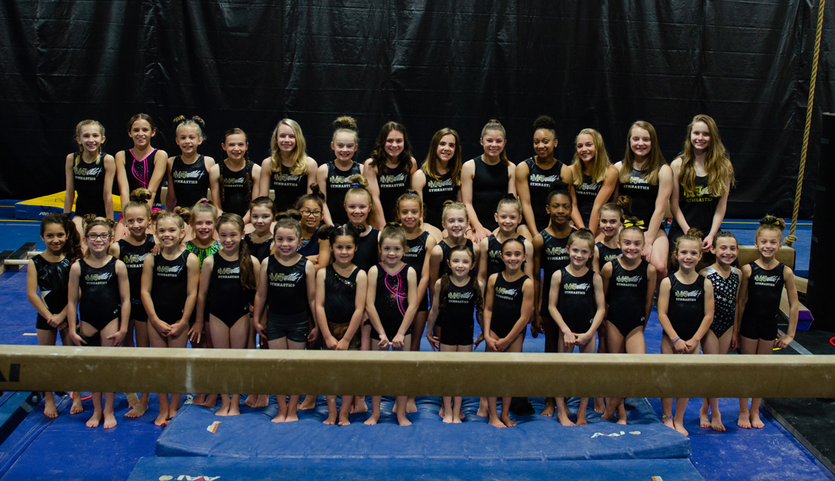 Mt. Juliet Elite Gymnastics Team Girls