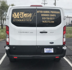 Mt Juliet Elite Gymnastics After School Van